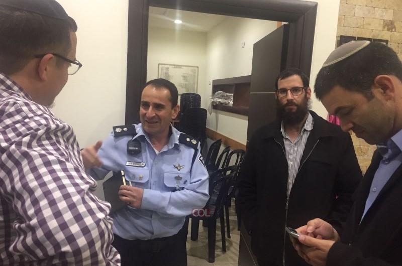 מפקד משטרת לוד: 'נדאג לביטחון של תושבי קהילת חב