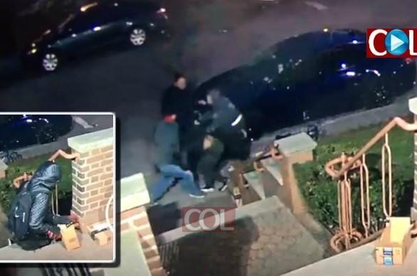 גנב ונעצר: כך השתלטו חברי ה'שומרים' על הגנב • צפו