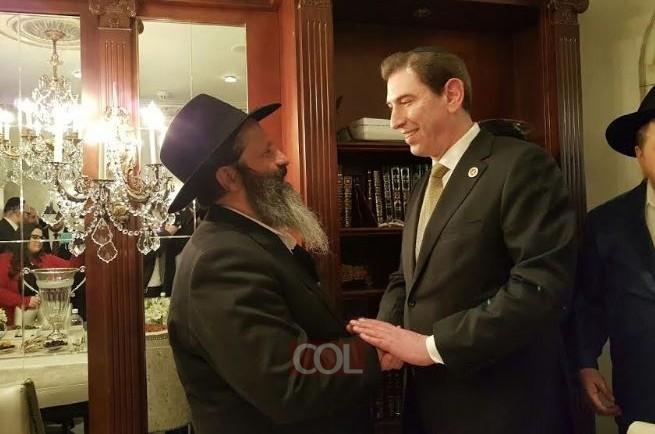 רובשקין הודה לחברת הקונגרס שסייעה לשחרורו