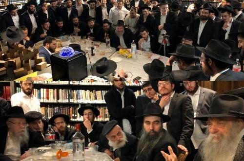 התוועדות יארצייט השביעי של הרב דוד רסקין ע