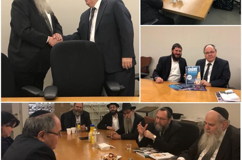 קראון הייטס: הקונסול הישראלי בפגישת עומק עם סגן יו