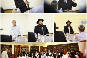 תל אביב: כינוס תורה לתלמידי ישיבת 'חזון אליהו' ● גלריה