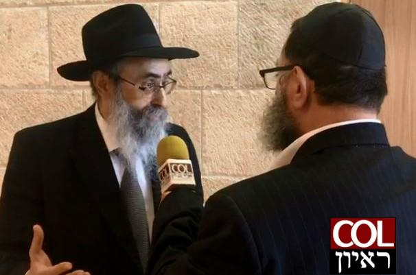 הרב גלוכובסקי: