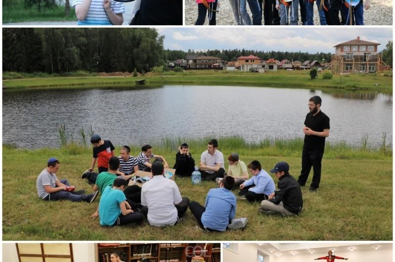 סדן של שלוחים: פעילות שוקקת בקעמפ 'צעירי השלוחים' מוסקבה
