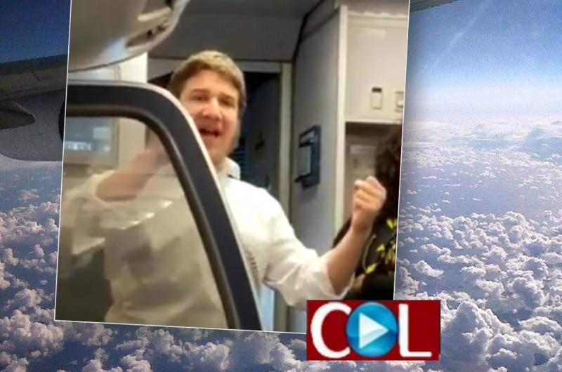 בָּרָקִיעַ כִּרְצונו: המסר של הרבי לעולם הועבר בטיסה לניו יורק • צפו
