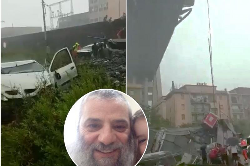 אסון באיטליה; השליח בראיון לבן כספית: