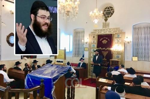 הרב חיים-הלל רסקין נבחר כרב לקהילת חב