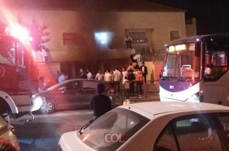 אסון כבד: שני ילדים נספו בשריפה בביתר עילית