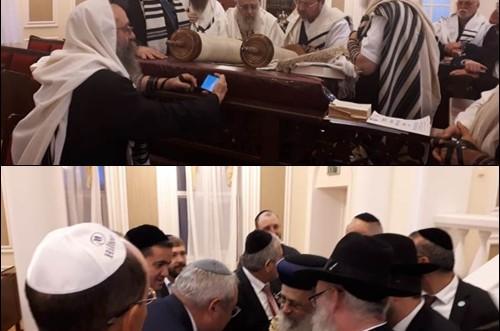 הרבנים הראשיים לישראל ביקרו בקזחסטאן