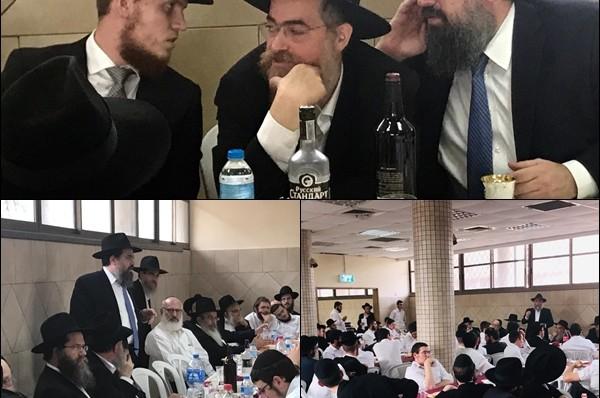 בישיבה בכפר: 'שבע ברכות' לנכד הרב אברהם שם טוב