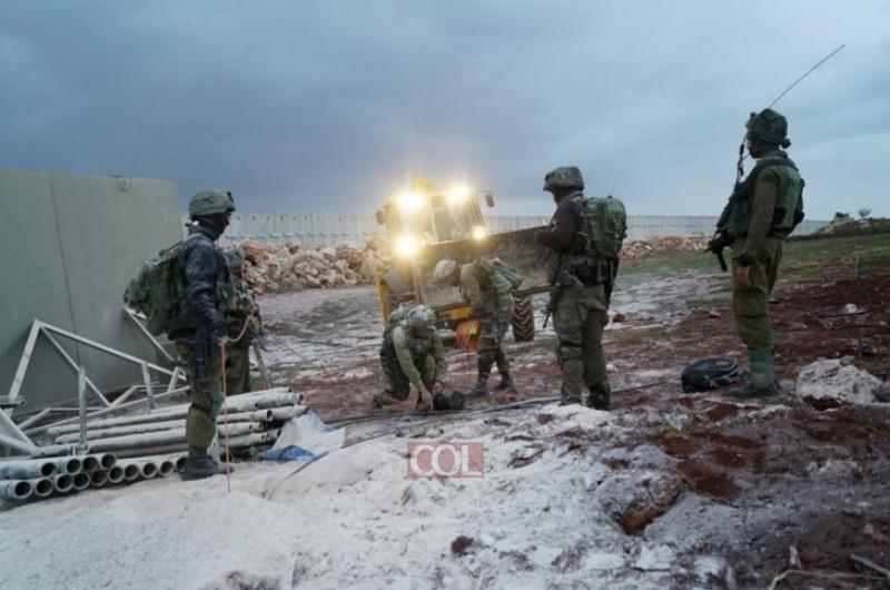 מבצע 'מגן צפוני': נחשפה מנהרת טרור שחצתה לשטח ישראל