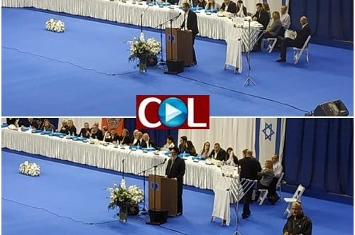 ישיבת מועצת העיר התכנסה: הרב דוברבסקי כובד לשאת דברים