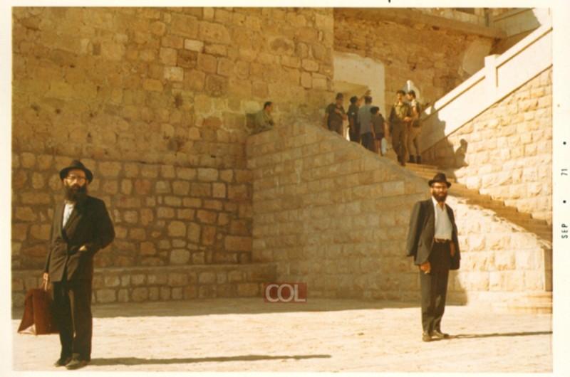 שליחויות עלומות: ר' דוד רסקין בביקורו בארץ הקודש ● היו ימים