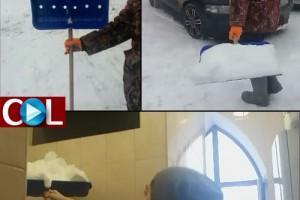 איך ממלאים מקווה בשלג? ● הדרכה מלאה, וידאו
