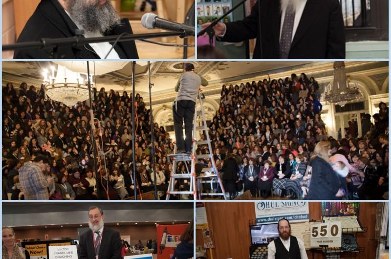 כינוס השלוחות העולמי: תמונה מרכזית, סדנאות ויריד קניות