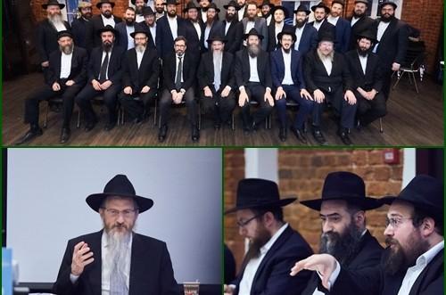 הרבנים והשלוחים בעשרות שכונות במוסקבה בפורום השנתי