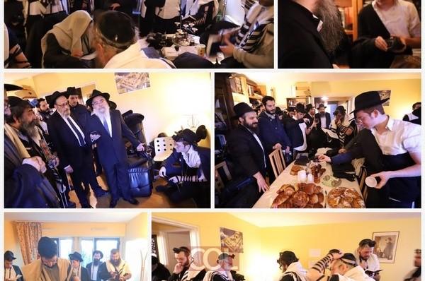 צרפת: זרם מנחמים בבית השליח הרב יוסף אטוויל ע
