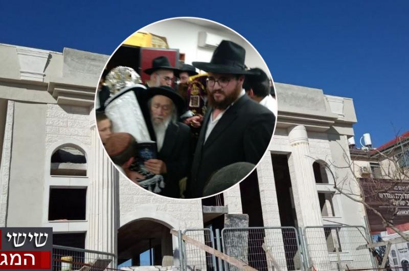 אוהבי ישראל יצאו להשלים בניית בית-הכנסת ● מאחורי הקלעים