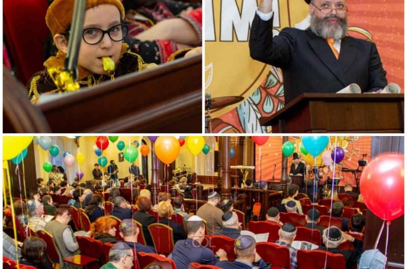 אירקוטסק-סיביר: ראש העיר חגג את פורים עם הקהילה היהודית