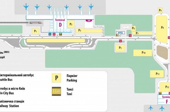 שימו לב: טרמינל חדש בשדה התעופה בוריספול שבקייב