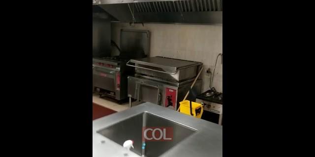מטבח הישיבה ריק