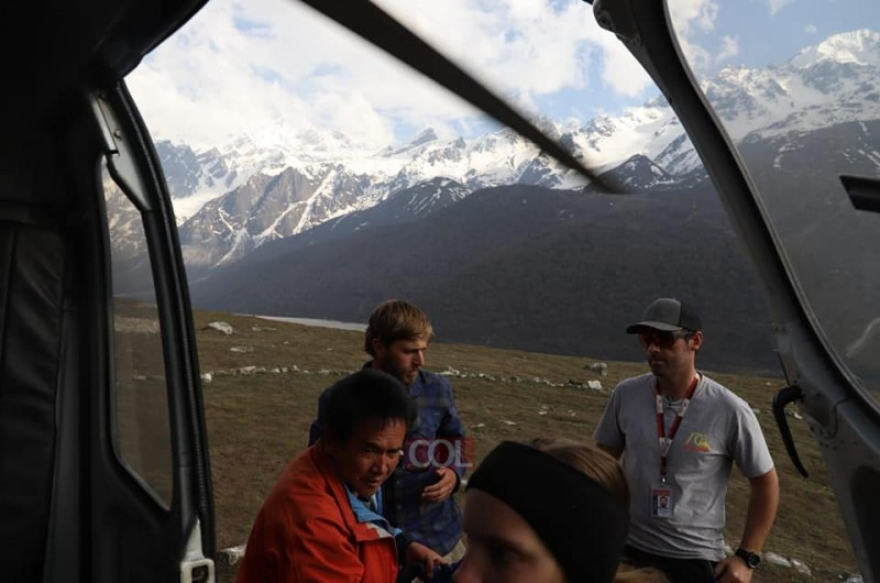 תמונת היום ● הרי ההימלאיה נפאל
