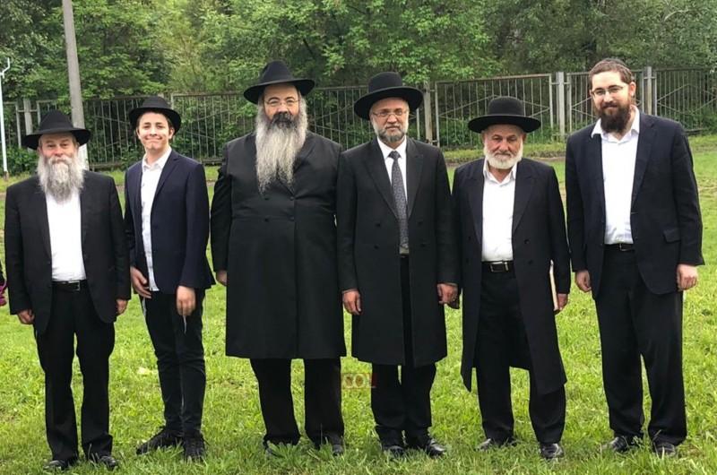 אורחים מישראל ביקרו בישיבת חב