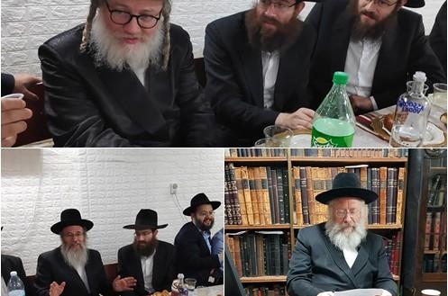 הרב מרדכי ריפקיינד הוכתר כרב בית כנסת קהילת חב