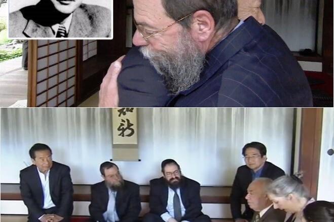 השליח הודה לבן הדיפלומט היפני שהציל את אביו בשואה