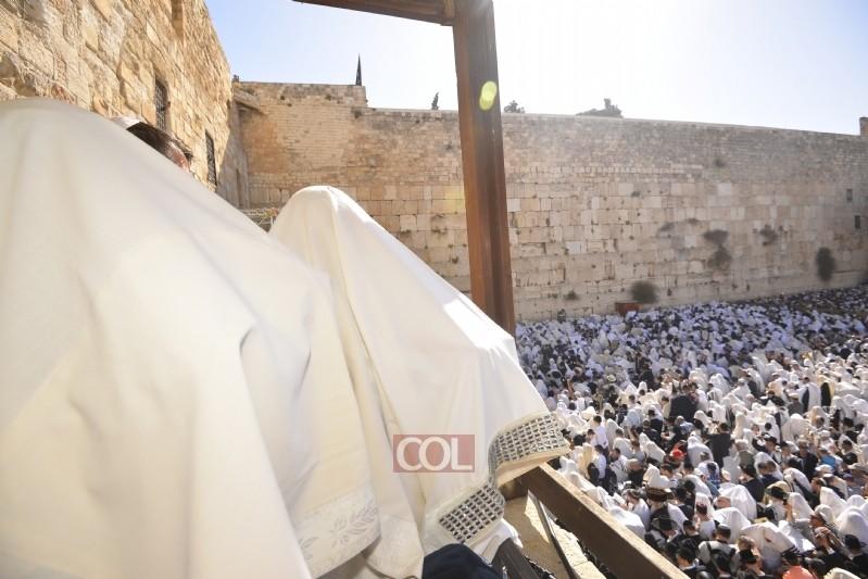 בכותל המערבי: נערכים לקליטת מתפללים בשבת וחג השבועות