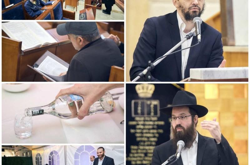 בבית הכנסת המרכזי במוסקבה: כינוס תורה וסיום מסכת • גלריה