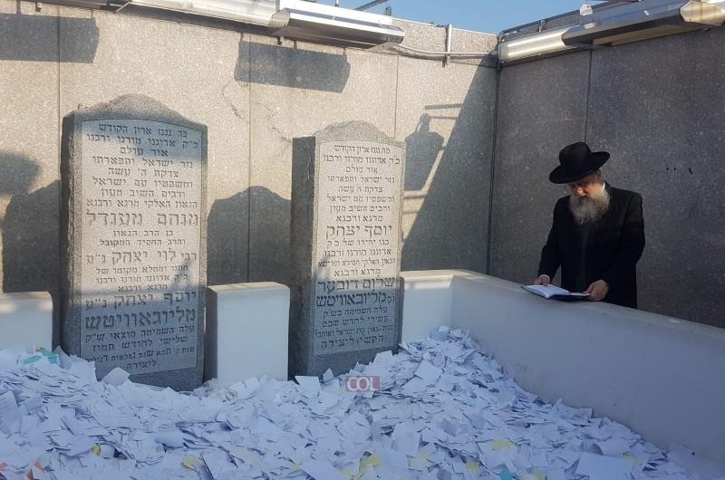 הרב דוד יוסף ביקר באוהל הק'
