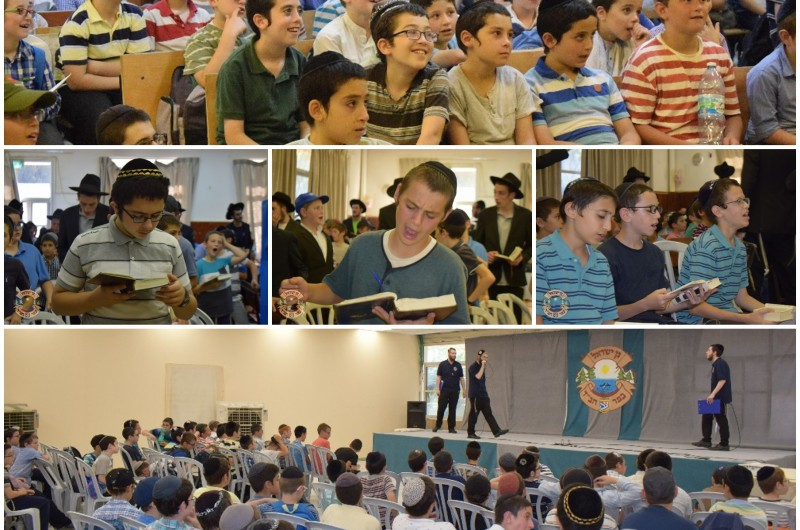 צפו בתיעוד: היום הראשון בקעמפ 'גן ישראל - כפר חב