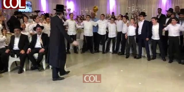 """הזמר מוטי שטיינמץ בבר מצוה בכפר חב""""ד"""