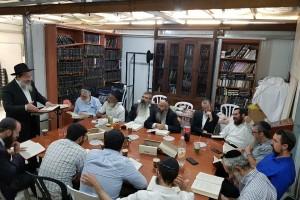 מיזם בעיר אלעד: כולל 'סאנדיי' לאברכי קהילת חב