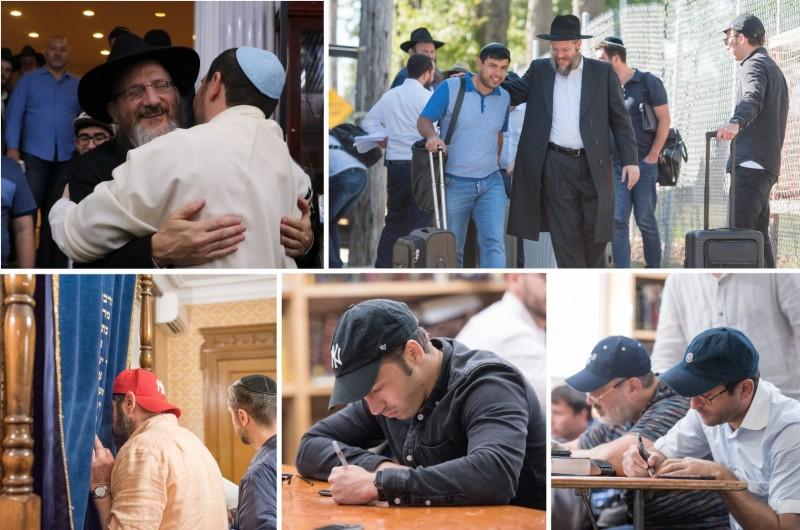 המקורבים ממוסקבה במסע נרחב ומרומם בחצרות קודשנו