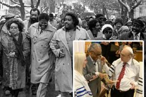 הכומר אל שארפטון האנטישמי נאם בבית-כנסת בראש השנה