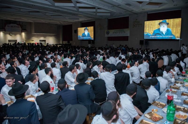 אלפים בכינוס הפתיחה המרכזי של תשרי בחצרות קודשנו