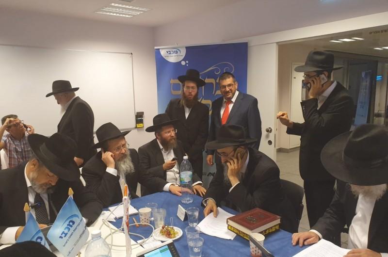 מוקד הלכה: הרבנים והרופאים ישבו ב'אסותא' והשיבו לשאלות
