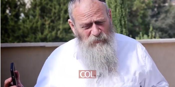 הרב וילימובסקי מדבר בגילוי לב על חשיבות הסינון