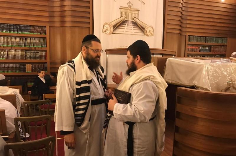 הרב יהודה טייכטל: בשיחה עם המתפללים הדגשנו הנס הגדול
