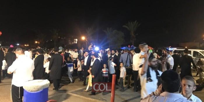 ושמחת בחגך: ריקודים מדי  ערב בשמחת בית השואבה בכפר חב