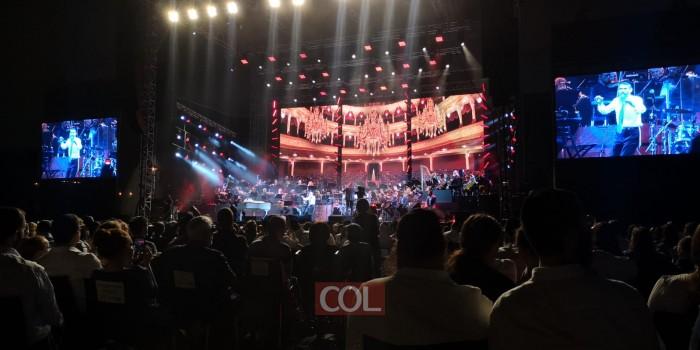 הנגנים בורחים ופריד שר סולו: סיום ההופעה הערב בראשון לציון