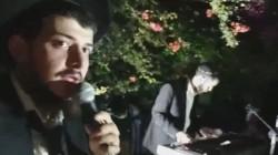 הזמר לוי כהן והקלידן יוסף יצחק פרקש, בשמחת בית השואבה בחיפה