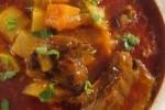 מרק כתף בקר וירקות