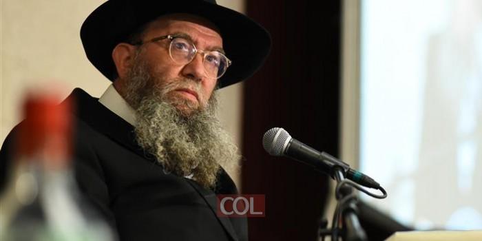 נאומו המלא של השליח הרב ישראל גליצנשטיין בכינוס צאתכם לשלום לאורחים