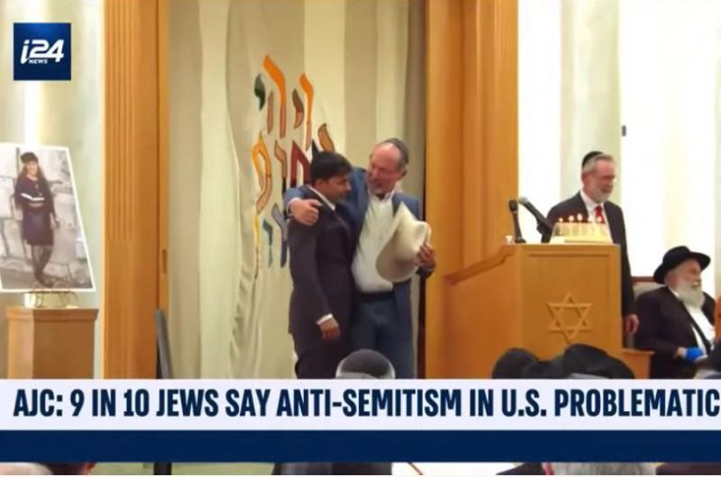 תשעה מכל 10 יהודים בארצות הברית מודאגים מהאנטישמיות