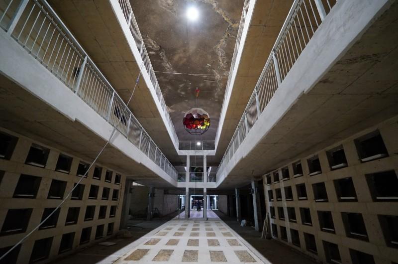 'מנהרות עולם' נחנכו בירושלים: בית קברות תת-קרקעי ענק