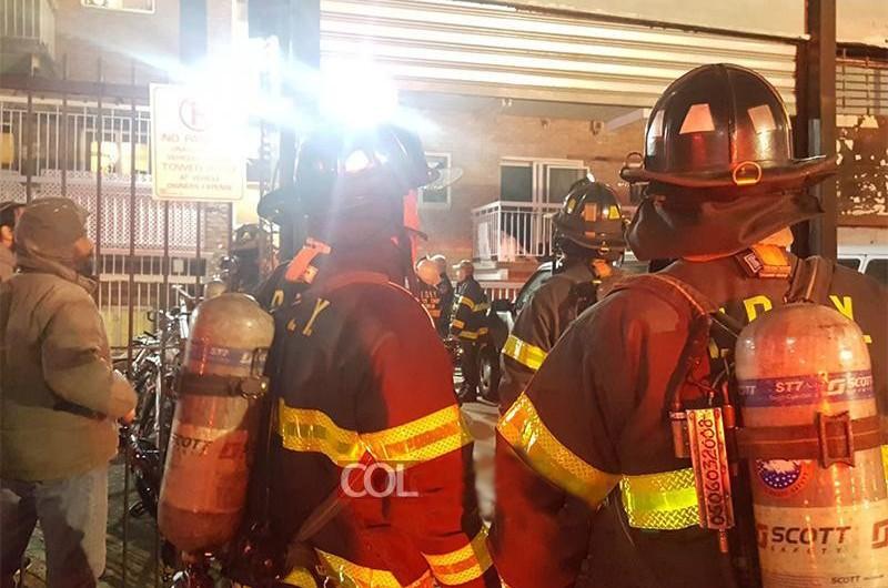בקראון הייטס: שריפה בבית כנסת 'לוי יצחק'; נגרם נזק כבד