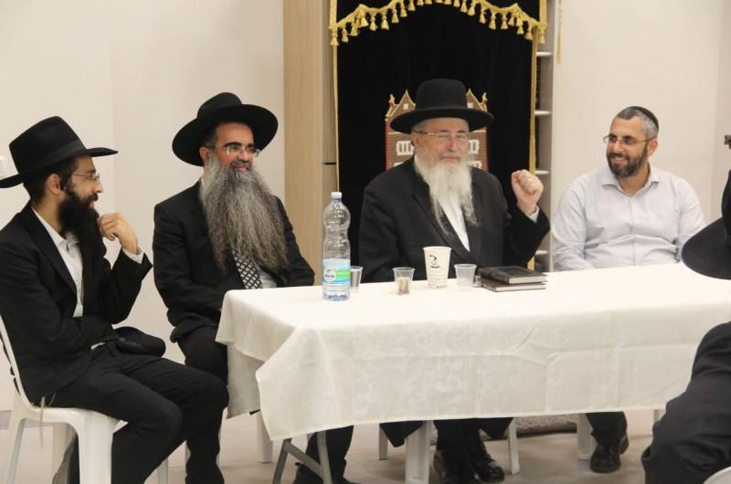 רבני הקהילות בחריש השתתפו ב'כינוס תורה'  בבית חב